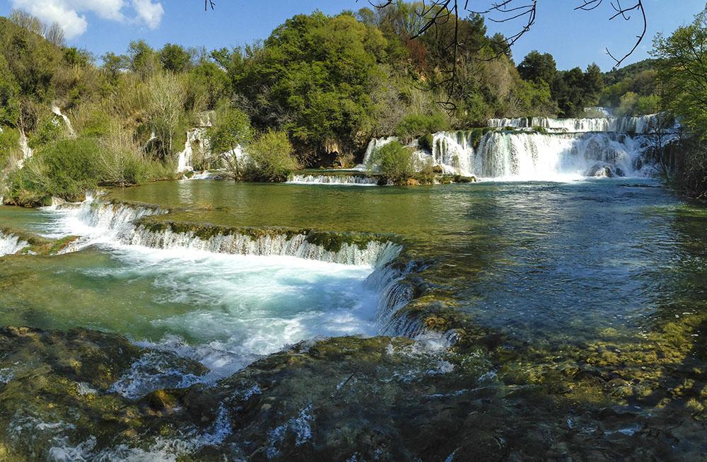 Krka Nationalpark, von Vodice ca. 20 km entfernt