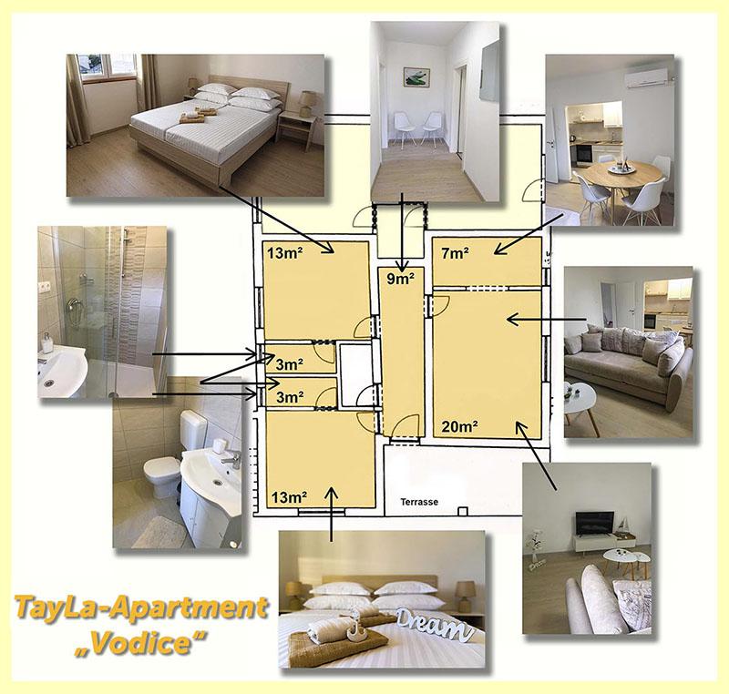 "TayLa-Apartment ""Vodice"""