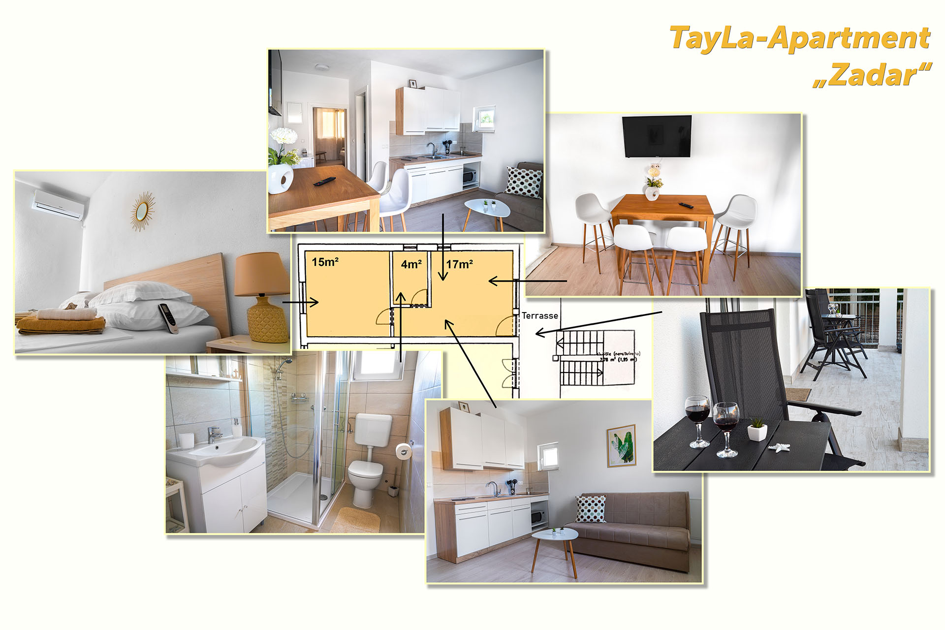 "Collage TayLa-Apartment ""Zadar"""
